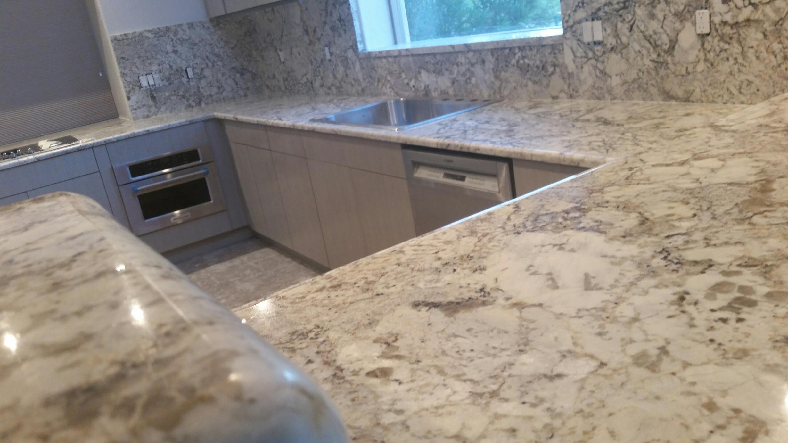 3cm White Springs Granite Gmt Stoneworks